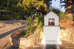 寺庙在希腊 库存图片