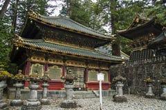 日光寺庙 库存照片