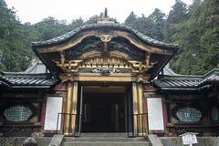 日光寺庙 图库摄影
