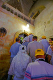 寺庙在日出的以色列 免版税库存图片