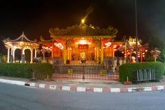 寺庙在普吉岛泰国 图库摄影