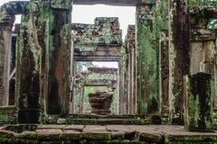 寺庙在柬埔寨密林 图库摄影