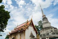 寺庙在泰国 免版税库存图片