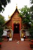寺庙在清莱 免版税图库摄影