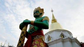 寺庙在清迈,泰国 库存照片