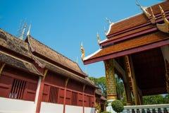 寺庙在清迈,泰国 图库摄影