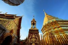 寺庙在清迈 库存照片