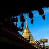 寺庙在清迈 免版税库存图片