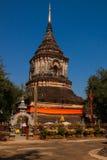寺庙在清迈 免版税图库摄影