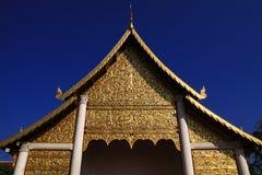 寺庙在清迈 库存图片