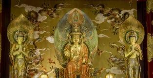 寺庙在菩萨牙遗物寺庙和博物馆,新加坡 免版税库存图片