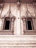 寺庙在镇里 免版税库存照片