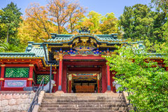 寺庙在静冈,日本 免版税图库摄影