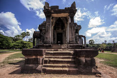 寺庙在吴哥窟 图库摄影