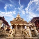 寺庙在Bhaktapur 免版税库存图片