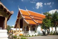 寺庙在Chiang Mai泰国 免版税图库摄影