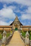 寺庙在Lampng,泰国 免版税库存图片