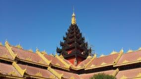 寺庙在Mynmar 库存图片