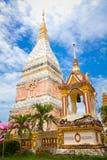寺庙在Renunakhon Nakhonphanom泰国 免版税库存图片