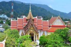 寺庙在Tailand 免版税库存图片