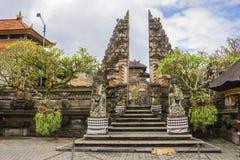 寺庙在Ubud,巴厘岛,印度尼西亚 库存照片