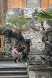 寺庙在Ubud 免版税库存图片