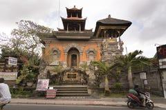 寺庙在Ubud 库存照片