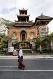 寺庙在Ubud 免版税图库摄影