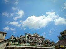 寺庙地平线 库存图片
