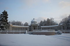 寺庙坟茔柱廊 图库摄影