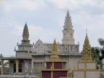 寺庙坟茔 库存照片