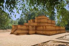 寺庙复合体在占碑省苏门答腊 免版税库存照片