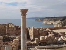 寺庙复合体在塞浦路斯欧洲 免版税库存图片
