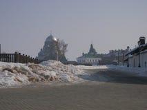 寺庙复合体 图库摄影