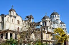 寺庙复合体& x22; 圣约翰风雨棚Baptist& x22; 索契,俄罗斯 免版税库存照片