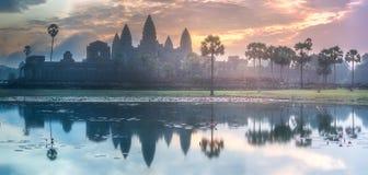 寺庙复杂吴哥窟暹粒,柬埔寨 库存图片