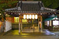 寺庙夜 图库摄影