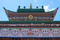 寺庙大厅 图库摄影