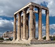 寺庙宙斯 库存照片