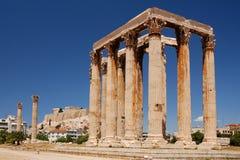 寺庙宙斯 库存图片