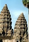 寺庙尖顶 库存照片