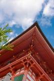 寺庙屋顶日本 库存图片