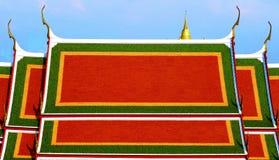 寺庙屋顶  库存图片