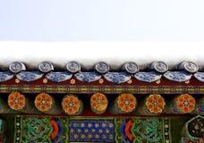 寺庙屋顶 库存照片