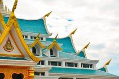 寺庙屋顶 免版税图库摄影