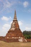 寺庙废墟, Ayutthaya 库存图片