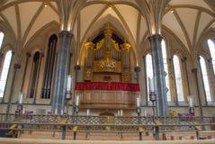 寺庙教会,伦敦内部  库存照片