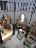 寺庙教会,伦敦,英国内部  库存照片