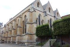 寺庙教会,伦敦,英国 免版税图库摄影