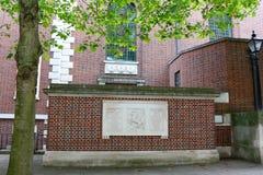 寺庙教会,伦敦,英国 库存图片